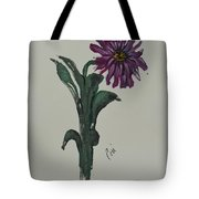 Purple Simplicity Tote Bag