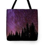 ...purple Sky Tote Bag