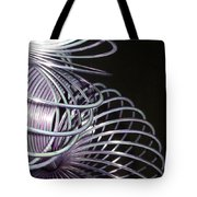 Purple Slinky Tote Bag