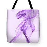 Purple Smoke Tote Bag