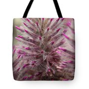 Purple Spike Tote Bag