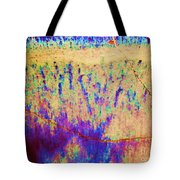 Purple Tan Stone Abstract Tote Bag