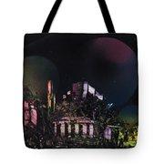 Purple Temple Tote Bag