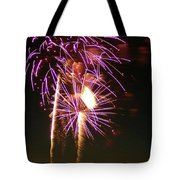 Purple Trees Tote Bag