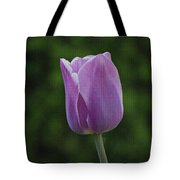 Purple Tulip Tote Bag