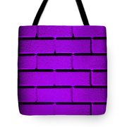 Purple Wall Tote Bag by Semmick Photo