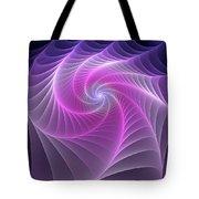 Purple Web Tote Bag