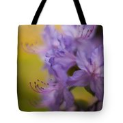 Purple Whispers Tote Bag by Mike Reid