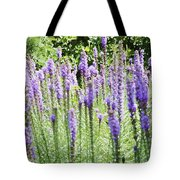 Purple Wild Flowers 2 Tote Bag