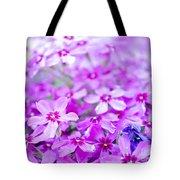 Purple Wildflower Tote Bag