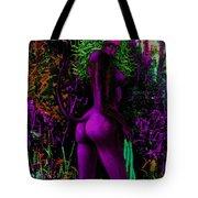 Purple Wood Nymph Tote Bag