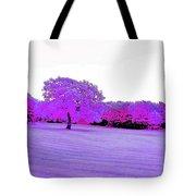 Purple World Tote Bag