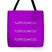 Purpleishious Tote Bag