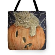 Purrfect Halloween Tote Bag