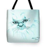 Pussycat Blues Tote Bag