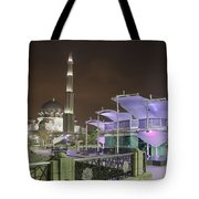 Putra Mosque At Night Tote Bag