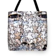 Puzzled Man No2 Tote Bag