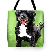 Pw Dog Tote Bag