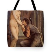 Pygmalion And The Image Iv Tote Bag