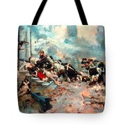 Pyle: Chew House Attack Tote Bag