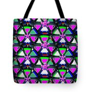 Pyramid Dome Triangle Purple Elegant Digital Graphic Signature   Art  Navinjoshi  Artist Created Ima Tote Bag