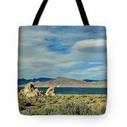 Pyramid Lake Tote Bag