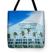 Pyramid, Moody Gardens, Galveston Tote Bag