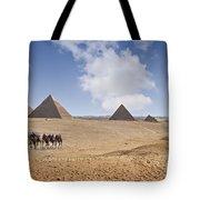 Pyramids Of Giza Tote Bag