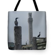 Pyrates On The Dock Tote Bag