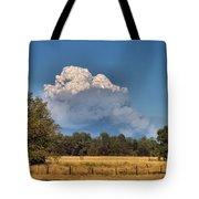 Pyrocumulus Cloud 08 18 12 Tote Bag