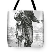 Pyrrho, Ancient Greek Philosopher Tote Bag