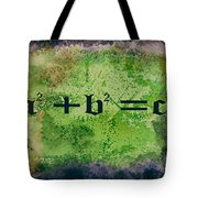 Pythagorean Theorem Tote Bag