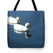 Quackers Tote Bag
