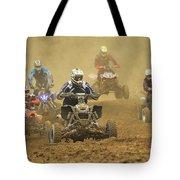 Quad Race Tote Bag
