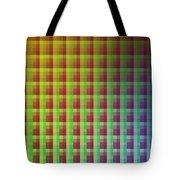 Quadrants Of Color Tote Bag