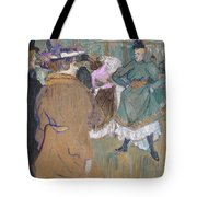 Quadrille At The Moulin Rouge, 1892 Tote Bag