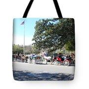 Quaint Jackson Square Tote Bag