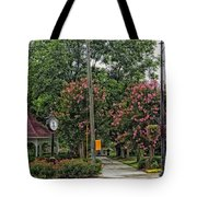 Quaint Park In Demopolis Alabama Tote Bag