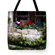 Quaint Stone Planter Tote Bag