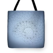 Quantum Nautilus Spotlight Tote Bag by Jason Padgett