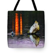 Quarry Lake Reflections Tote Bag