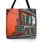 Quarter Time Painted 2 Tote Bag