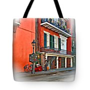 Quarter Time Painted 3 Tote Bag