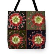 Quatro Floral - 0102cba Tote Bag
