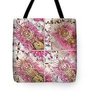 Quatro Floral - 22a Tote Bag