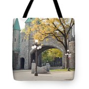 Bridge - Quebec Canada Tote Bag