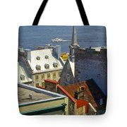 Quebec Lower Town Tote Bag