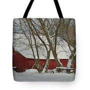 Quebec Winter Tote Bag