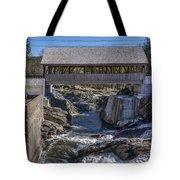 Quechee Covered Bridge Tote Bag