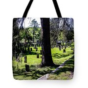 Quechee Vermont Cemetary Tote Bag